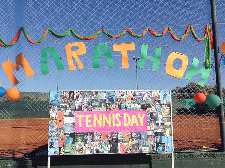 Марафон день Теннис